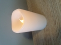 wieca LC2 - świeci