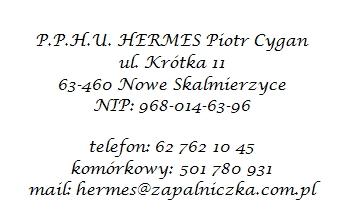 Dane kontaktowe do firmy HERMES